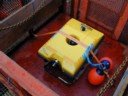 ROV in launch basket