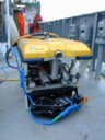 ROV with manip and recovery line